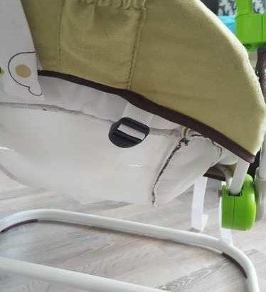 Электронные качели детские babycar
