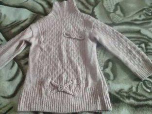 Продам розовый свитер