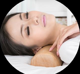 Подушка-валик по системе здоровья Кацудзо Ниши
