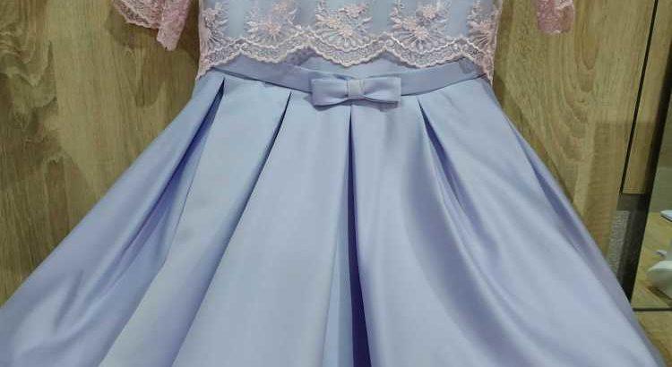 Продам нарядное платье из королевского атласа. р. 136- 140