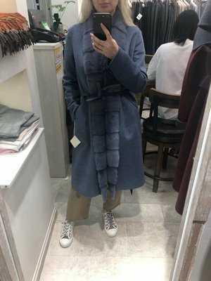 Женские пальто с норкой!