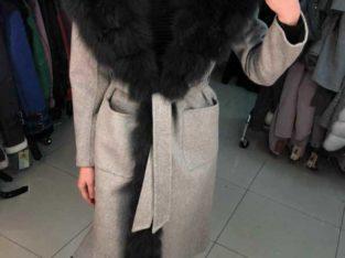 Женские пальто с песцом