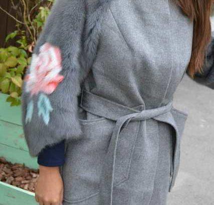 Женские пальто с норкой