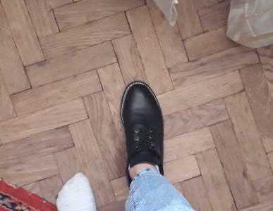 Продам ботинки кожа