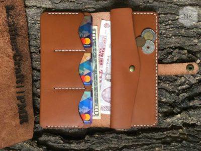 Изготавливаем мужские и женские изделия: портмоне, клатчи, сумки.