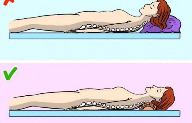 Детская, подростковая ортопедическая подушка-валик