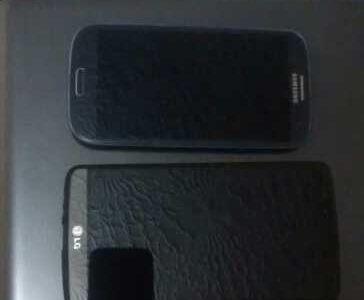 Продам 2 телефона Samsung galaxy,LG3