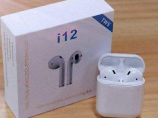 Беспроводные сенсорные Bluetooth наушники Earbuds i12-TWS