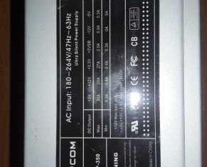 Блок питания Rapcom 180~264V/47Hz~63Hz