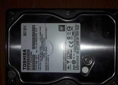 HDD диск Toshiba 500ГБ