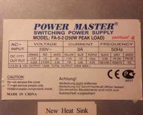Блок питания Power Master