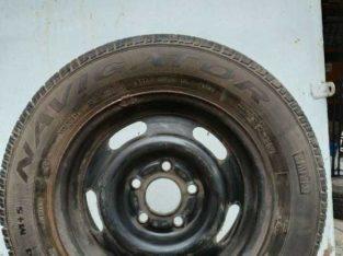 Продам 4 колеса с железными дисками