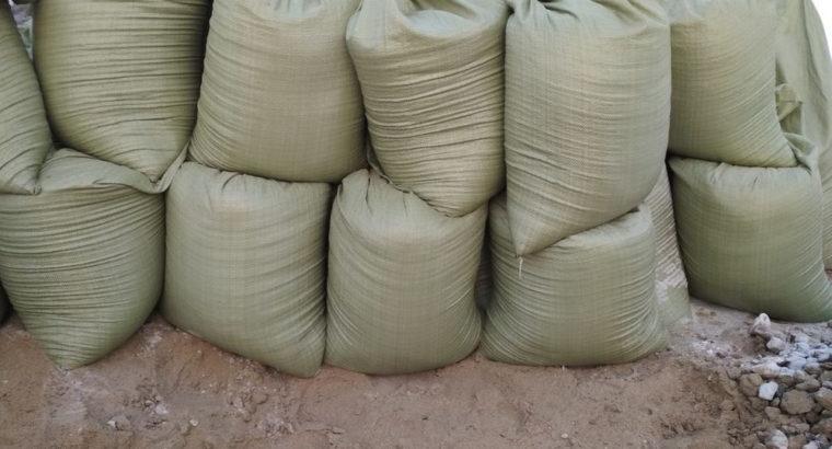 Продам песок сеяный в мешках
