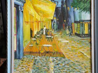 Копии холстов художников – Халс, Леонардо да Винчи, Ван Гог
