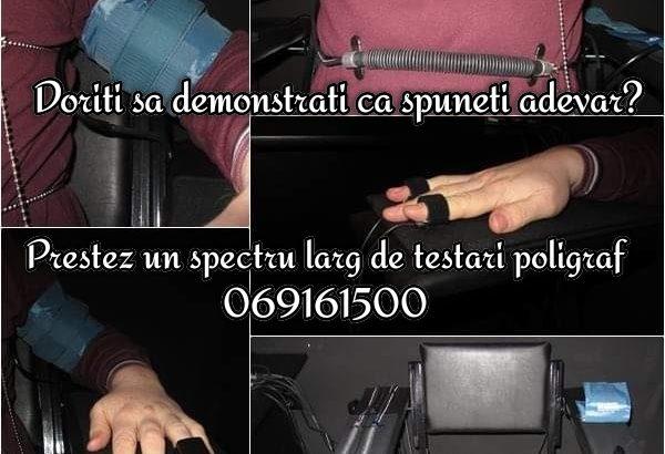 Детекция лжи — Servicii testare poligraf — pentru persoane fizice si juridice