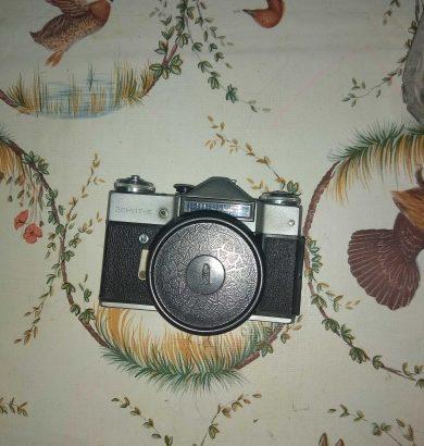 Продам старый фотоаппарат Зенит плёночный + весь комплект.