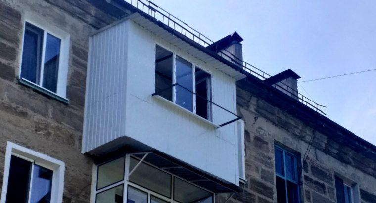 Ремонт балконов в Тирасполе, Бендерах, Рыбнице, Дубоссарах