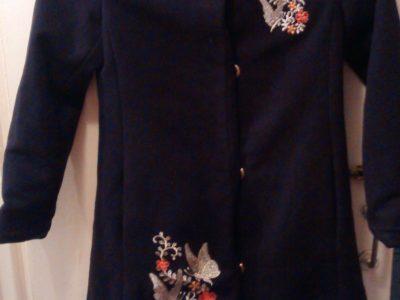 Пальто детское и бриджи