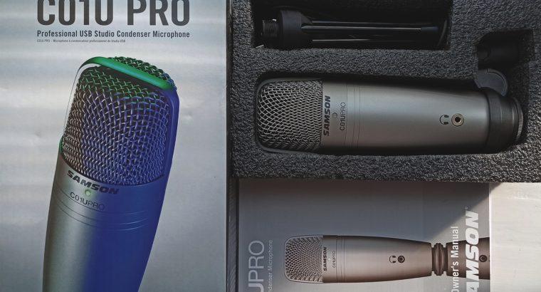 Продам профессиональный USB-микрофон Samson C01U PRO