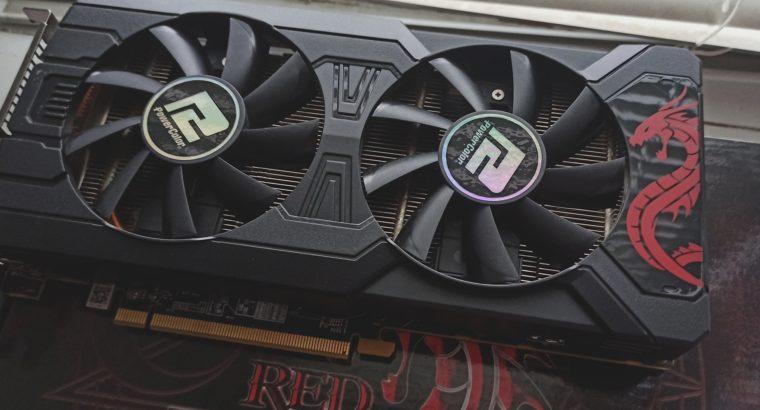 Продам видеокарту PowerColor Radeon RX 570 8GB