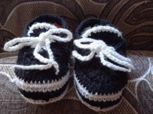 Пинетки-туфельки на мальчика