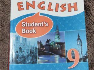 Продам учебник по английскому языку за 9 класс.