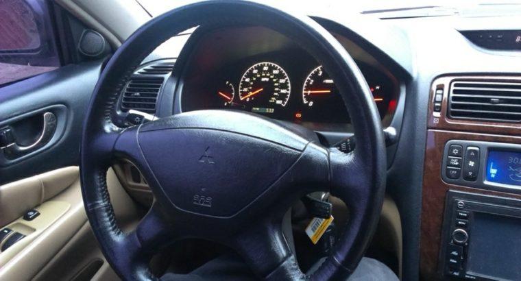 Кожаный руль для Mitsubishi Galant 8